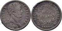 Demi Franc 1808 Frankreich Paris Napoleon I., 1804-1814/15 Bug, ss  50,00 EUR  +  3,00 EUR shipping