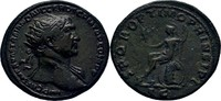 Dupondius 107 RÖMISCHE KAISERZEIT Trajan, 98-117 ss  300,00 EUR free shipping