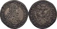 VI Kreuzer 1714 RDR Schlesien Breslau Karl VI., 1711-1740. Kratzer, ss  35,00 EUR  +  3,00 EUR shipping