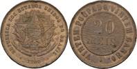 20 Reis 1900 Brasilien  Stempelglanz  25,00 EUR  +  3,00 EUR shipping