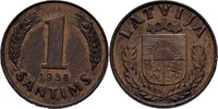 1 Santims 1938 Lettland  vz  7.80 US$ 7,00 EUR  +  3.34 US$ shipping