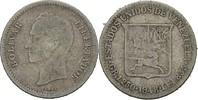 1/4 Bolivar 1948 Venezuela  fast ss  7,00 EUR  +  3,00 EUR shipping