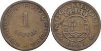 1 Escudo 1957 Port. Mosambik  ss  7,00 EUR  +  3,00 EUR shipping