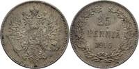 25 Penniä 1916 S Finnland Nikolaus II., 1894-1917 vz+  15,00 EUR  +  3,00 EUR shipping