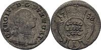 Kreuzer 1758 Württemberg Karl Eugen, 1744-1793 ss  10,00 EUR  +  3,00 EUR shipping