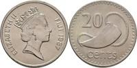 20 Cents 1987 Fidschi Inseln Elisabeth II., 1952-heute prägefrisch  7,00 EUR  +  3,00 EUR shipping
