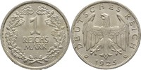 1 Reichsmark 1925 A Weimarer Republik  fast Stempelglanz  35,00 EUR  +  3,00 EUR shipping