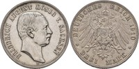 3 Mark 1910 Sachsen Friedrich August III., 1904-1918 ss  33.30 US$ 30,00 EUR  +  4.44 US$ shipping