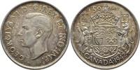 50 Cents 1942 Kanada George VI., 1936-52 fast Stempelglanz  30,00 EUR  +  3,00 EUR shipping