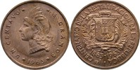 1 Centavo 1963 Dominikanische Republik  Stempelglanz  5,00 EUR  +  3,00 EUR shipping