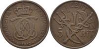 1 Cent (5 Bit) 1913 VGP Dänisch Westindien Christian X., 1912-47 ss, kl... 50,00 EUR  +  3,00 EUR shipping