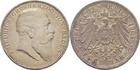 5 Mark 1904 Baden Karlsruhe Friedrich I. 1856-1907 kl. Randschläge, ss  40,00 EUR  +  3,00 EUR shipping