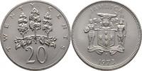 20 Cents 1973 Jamaika FAO - Forstwirtschaft Hoher Eibisch prägefrisch  7,00 EUR  +  3,00 EUR shipping