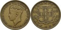 1/2 Penny 1945 Jamaika George VI., 1936-52 ss  5,00 EUR  +  3,00 EUR shipping