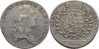Taler 1790 Sachsen Friedrich August III./I., 1763-1827 ss  90,00 EUR  +  3,00 EUR shipping