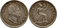 4 Pence 1837 Großbritannien William IV., 1830-1837 vz  85,00 EUR  +  3,00 EUR shipping