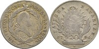 20 Kreuzer 1786 Bayern München Karl Theodor, 1779 - 1799 f.ss  20,00 EUR  +  3,00 EUR shipping