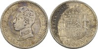 50 Centimos 1904 SMV Spanien Alfonso XIII., 1886-1931 vz  15,00 EUR  +  3,00 EUR shipping