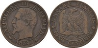 5 Centimes 1854 BB Frankreich Napoleon III., 1852-70 ss  7,00 EUR  +  3,00 EUR shipping