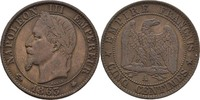 5 Centimes 1863 A Frankreich Napoleon III., 1852-70 vz  25,00 EUR  +  3,00 EUR shipping