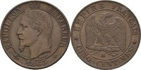 5 Centimes 1863 BB Frankreich Napoleon III., 1852-70 vz  27.49 US$ 25,00 EUR  +  4.40 US$ shipping