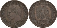 5 Centimes 1855 B Frankreich Napoleon III., 1852-70 ss  10,00 EUR  +  3,00 EUR shipping