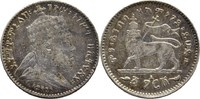 1/20 Birr (1 Gersh) 1903 A Äthiopien Menelik II., 1889-1913 ss/vz  14,00 EUR  +  3,00 EUR shipping