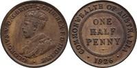 1/2 Penny 1926 Australien George V., 1910-36 ss  8,00 EUR  +  3,00 EUR shipping