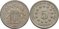 5 Cent 1868 USA  gereinigt, fvz  60.47 US$ 55,00 EUR  +  4.40 US$ shipping