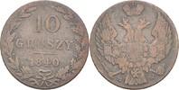 10 Groszy 1840 MW Polen Nikolaus I., 1825-55 fast ss  15,00 EUR  +  3,00 EUR shipping