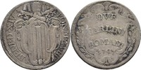 2 Carlini 1747 Vatikan Benedikt XIV., 1740-1758 ss  55,00 EUR  +  3,00 EUR shipping