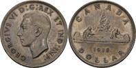 1 Dollar 1938 Kanada George VI., 1936-52 vz+ Tönung  40,00 EUR  +  3,00 EUR shipping