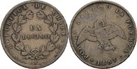 1 Decimo 1857 S Chile Condor fast ss/ss  20,00 EUR  +  3,00 EUR shipping