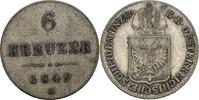 6 Kreuzer 1849 A Österreich - Habsburg Franz Josef I., 1848-1916 ss  7,00 EUR  +  3,00 EUR shipping