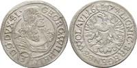 3 Kreuzer 1674 Schlesien Liegnitz Brieg Georg Wilhelm, 1672-1675 vz  175,00 EUR  +  3,00 EUR shipping