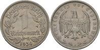 1 Reichsmark 1934 J Drittes Reich  fvz kl. Randfehler  10,00 EUR  +  3,00 EUR shipping