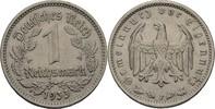 1 Reichsmark 1933 F Drittes Reich  fvz kl. Randfehler  15,00 EUR  +  3,00 EUR shipping