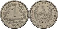 1 Reichsmark 1933 E Drittes Reich  fvz kl. Randfehler  15,00 EUR  +  3,00 EUR shipping