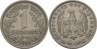 1 Reichsmark 1933 D Drittes Reich  fvz kl. Randfehler  10,00 EUR  +  3,00 EUR shipping