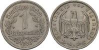 1 Reichsmark 1933 A Drittes Reich  fvz kl. Randfehler  10,00 EUR  +  3,00 EUR shipping