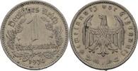 1 Reichsmark 1934 A Drittes Reich  fvz kl. Randfehler  6,00 EUR  +  3,00 EUR shipping
