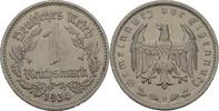 1 Reichsmark 1934 D Drittes Reich  fvz kl. Randfehler  7,00 EUR  +  3,00 EUR shipping