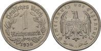 1 Reichsmark 1934 G Drittes Reich  fvz  7,00 EUR  +  3,00 EUR shipping