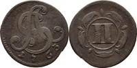 2 Pfennige 1763 Lippe Detmold Simon August, 1734-1782 ss  15,00 EUR  +  3,00 EUR shipping