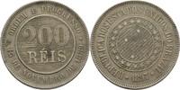 200 Reis 1897 Brasilien  ss  12,00 EUR  +  3,00 EUR shipping
