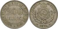200 Reis 1871 Brasilien  ss  12,00 EUR  +  3,00 EUR shipping