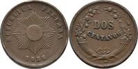 2 Centavos 1938 Peru  ss Randfehler  7,00 EUR  +  3,00 EUR shipping