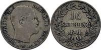 16 Skilling 1857 FKVS Dänemark Frederik VII., 1848-63 ss  15.83 US$ 14,00 EUR  +  3.39 US$ shipping