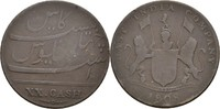 20 Cash 1808 Britisch East India - Madras George III., 1760-1820 fast ss  13,00 EUR  +  3,00 EUR shipping