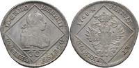 30 Kreuzer 1768 RDR ÖSterreich Wien Joseph II., 1765-1790 Zainende, ss+  107.41 US$ 95,00 EUR  +  4.52 US$ shipping